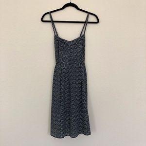Romy Blue Floral Summer Dress - Medium
